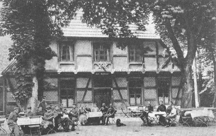 "Gasthaus ""Der Rotenhof"" um 1917 - später Rendsburger Jugendherberge"